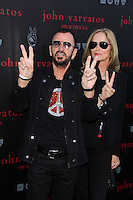 Ringo Starr, Barbara Bach<br /> John Varvatos And Ringo Starr Celebrate International Peace Day, John Varvatos, West Hollywood, CA 09-21-14<br /> David Edwards/DailyCeleb.com 818-915-4440