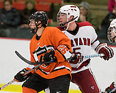 Matt Arhontas (Princeton - 26), Jack Christian (Harvard - 5) - The Princeton University Tigers defeated the Harvard University Crimson 2-1 on Friday, January 29, 2010, at Bright Hockey Center in Cambridge, Massachusetts.