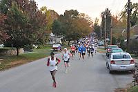 Iron Horse Half Marathon, Midway, KY 23 October 2011