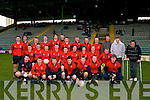 St Michaels Listowel who were defeated by Mercy Mounthawk Football team by 1-9 to -9pts in the Colaisti Na Mumham 2008/09 Corn an Runai Final in Austin Stack Park, Tralee on Wednesday