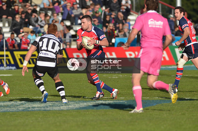 Tasman Makos vs Hawkes Bay Magpies, ITM Cup Rugby, 17th August 2014, Lansdowne Park, Blenheim New Zealand, Ricky Wilson Shuttersport