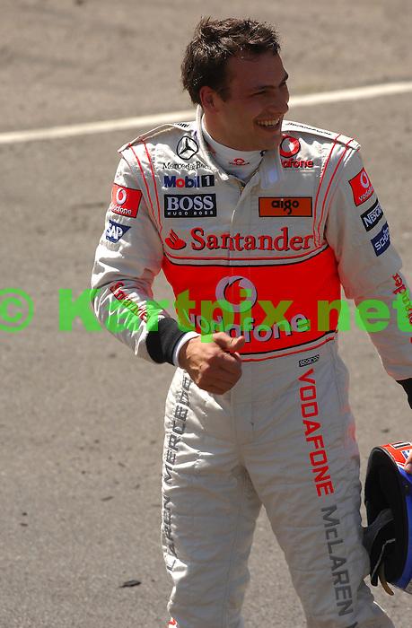 Let`s Go Karting Vodafone McLaren Mercedes test driver Gary Paffett