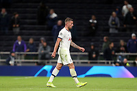 Toby Alderweireld of Tottenham Hotspur leaves the pitch at the end of the humiliating defeat after Tottenham Hotspur vs FC Bayern Munich, UEFA Champions League Football at Tottenham Hotspur Stadium on 1st October 2019