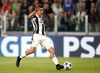 Football Soccer: UEFA Champions League semifinal second leg Juventus - Monaco, Juventus stadium, Turin, Italy,  May 9, 2017. <br /> Juventus' Paulo Dybala in action during the Uefa Champions League football match between Juventus and Monaco at Juventus stadium, on May 9, 2017.<br /> UPDATE IMAGES PRESS/Isabella Bonotto