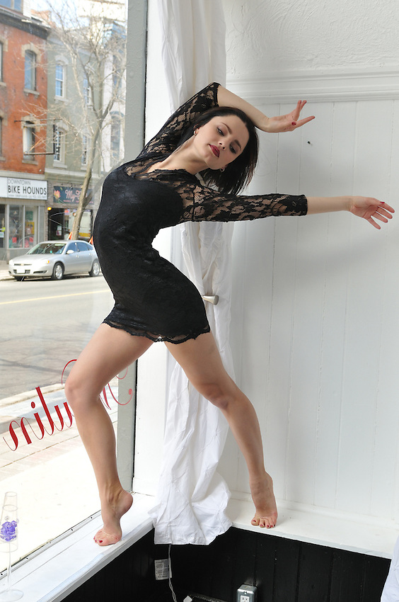 Gregory Holmgren Fashion Shoot, Clothing and Location Courtesy Of Moulin Rouge Boutique, Hamilton, ON.