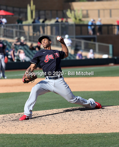 Anthony Gose - Cleveland Indians 2020 spring training (Bill Mitchell)