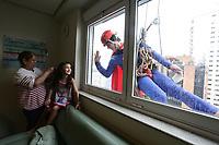 08.10.2019 - Super-Heróis em hospital infantil em SP