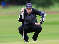 Kevin Phelan (IRL) on the 10th green during Round 2 of the Bridgestone Challenge 2017 at the Luton Hoo Hotel Golf &amp; Spa, Luton, Bedfordshire, England. 08/09/2017<br /> Picture: Golffile | Thos Caffrey<br /> <br /> <br /> All photo usage must carry mandatory copyright credit     (&copy; Golffile | Thos Caffrey)