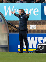 Gareth Ainsworth manager of Wycombe Wanderers during the Sky Bet League 2 match between Wycombe Wanderers and Mansfield Town at Adams Park, High Wycombe, England on the 14th April 2017. Photo by Liam McAvoy.