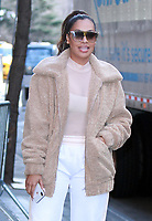 NEW YORK, NY - JANUARY 24: La La Anthony seen exiting ABC's The View in New York City on January 24, 2018. Credit: RW/MediaPunch