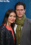 "Phillipa Soo and Steven Pasquale attending the Broadway Opening Night Performance of  ""What The Constitution Means To Me"" at the Hayes Theatre on March 31, 2019 in New York City."