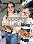 Makenzie Bradley and Jake Lawlor at the Seafood Rocks festival in Clogherhead. Photo:Colin Bell/pressphotos.ie