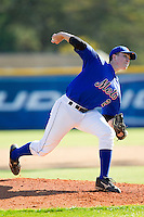 Caleb Lupton (25) of Chapman High School at the 2012 South Atlantic Border Battle on November 3, 2012 in Burlington, North Carolina.  The Mets (SC13) defeated the Red Sox (NC 13) 3-2.  (Brian Westerholt/Four Seam Images)