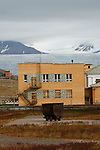 Pyramiden (Danish, Norwegian and Swedish meaning &quot;the pyramid&quot;, Russian: ????????, piramida) is an abandoned Russian settlement and coal mining community on the archipelago of Svalbard, Norway. It was founded by Sweden in 1910 and sold to the Soviet Union in 1927. It lies at the foot of the Billefjorden on the island of Spitsbergen and is named for the pyramid-shaped mountain adjacent to the town.<br />