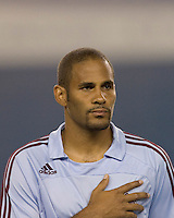 Colorado Rapids defender Tony Sanneh (29). The New England Revolution defeated the Colorado Rapids, 1-0, at Gillette Stadium in Foxboro, MA on September 29, 2007.