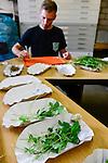 DEUTSCHLAND, , Versuchsgut Lindhof der UNI Kiel, Forschungsschwerpunkt ökologischer Landbau und extensive Landnutzungssysteme, Erforschung optimale Weidehaltung von Milchkuehen, Analyse der Graeser und Pflanzen der einzelnen Weideflaechen