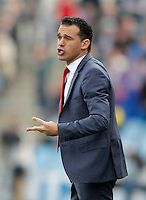 Getafe's coach Luis Garcia during La Liga match. February 16, 2013. (ALTERPHOTOS/Alvaro Hernandez) /Nortephoto