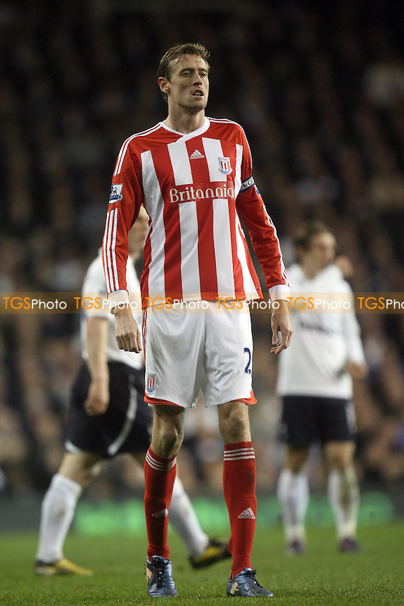 Peter Crouch of Stoke City -  Tottenham vs Stoke City - at the White Hart lane Stadium - 21/03/12 - MANDATORY CREDIT: Dave Simpson/TGSPHOTO - Self billing applies where appropriate - 0845 094 6026 - contact@tgsphoto.co.uk - NO UNPAID USE.
