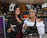 Brie and Sisi during the Pirate Crawl in downtown Reno on Saturday, August 17, 2019.