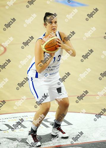 2014-09-25 / Basketbal / seizoen 2014-2015 / Kangoeroes Dames Boom / Ellen Lauwers<br /><br />Foto: mpics.be