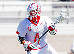 Palos Verdes, CA 03/26/16 - Mikey Booth (Palos Verdes #4) in action during the CIF Boys Lacrosse game between San Clemente Tritons and the Palos Verdes Seakings at Palos Verdes High School.  Palos Verdes defeated San Clemente 11-6