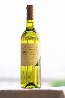 Bottle of Chevalier de Sadirac Pacherenc du Vic Bilh Sec Cave de Crouseilles dry white wine Madiran France