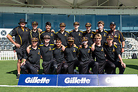 CS Wellington College during the Gillette Cup Finals, Hagley Park, Christchurch, New Zealand. 5th December 2019. Photo: John Davidson, www.bwmedia.co.nz