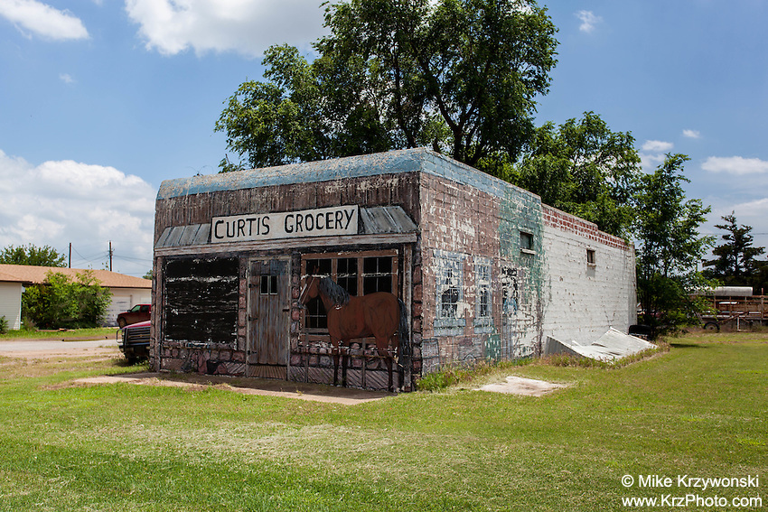 Curtis Grocery Store in Gate, OK