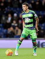 Kyle Naughton of Swansea City during the Barclays Premier League match between West Bromwich Albion and Swansea City at The Hawthorns on the 2nd of February 2016