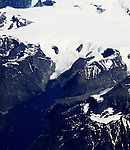 View of Greenland during a summer 2011 flyover.<br /> Photo by Deirdre Hamill/Quest Imagery