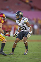 Colorado Buffaloes Greg Henderson (20) during a game against the USC Trojans on October 18, 2014 at Los Angeles Memorial Coliseum in Los Angeles, CA. USC beat Colorado 56-28.