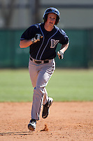 February 26, 2010:  Tyler Sciacca of the Villanova Wildcats during the Big East/Big 10 Challenge at Raymond Naimoli Complex in St. Petersburg, FL.  Photo By Mike Janes/Four Seam Images