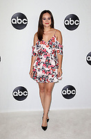 BEVERLY HILLS, CA - August 7: Hayley Orrantia, at Disney ABC Television Hosts TCA Summer Press Tour at The Beverly Hilton Hotel in Beverly Hills, California on August 7, 2018. <br /> CAP/MPI/FS<br /> &copy;FS/MPI/Capital Pictures