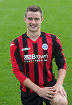 Matthew Buchanan, St Johnstone FC...Season 2014-2015<br /> Picture by Graeme Hart.<br /> Copyright Perthshire Picture Agency<br /> Tel: 01738 623350  Mobile: 07990 594431