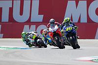 VALENTINO ROSSI - ITALIAN - MOVISTAR YAMAHA MotoGP - YAMAHA<br /> ANDREA DOVIZIOSO - ITALIAN - DUCATI TEAM - DUCATI<br /> MAVERICK VINALES - SPANISH - MOVISTAR YAMAHA MotoGP - YAMAHA<br /> ALEX RINS - SPANISH - TEAM SUZUKI ECSTAR - SUZUKI<br /> CAL CRUTCHLOW - BRITISH - LCR HONDA CASTROL - HONDA<br /> Assen 1-07-2018 <br /> Moto Gp Olanda<br /> Foto Vincent Guignet / Panoramic / Insidefoto
