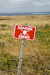 During the Falklands War in 1982, the Argentine army laid mines all over the islands' beaches to prevent the expected British landings. . Upon surrendering, the Argentine forces handed over the maps to their British counterparts..Even with this kind of help, mine clearance costs time and human lives. Eager to return to more hospitable dimes, the British army carefully filed the maps and went home.In 1988, following a campaign in the UK, experts were appointed to clear the mined areas. But in the intervening six years, rain, snow and erosion had rendered the maps hopelessly out of date. The experts settled for fencing off the affected areas with mile upon mile of barbed wire..26 000  mines still remain.The barbed wire is still there.  There has been no campaign to count the three-legged sheep, a unique, living monument to non-compliance with international conventions.