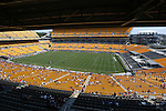 16 August 2015: Heinz Field set up for soccer. The United States Women's National Team played the Costa Rica Women's National Team at Heinz Field in Pittsburgh, Pennsylvania in an women's international friendly soccer game. The U.S. won the game 8-0.