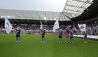 Pictured: Sunday 30 August 2015<br />Re: Premier League, Swansea v Manchester United at the Liberty Stadium, Swansea, UK