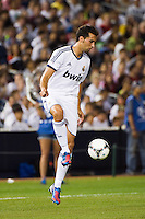 Alvaro Arbeola (17) of Real Madrid. Real Madrid defeated A. C. Milan 5-1 during a 2012 Herbalife World Football Challenge match at Yankee Stadium in New York, NY, on August 8, 2012.