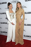 BROOKLYN, NY - NOVEMBER 13: Bella Hadid and Gigi Hadid  at Glamour's 2017 Women Of The Year Awards at the Kings Theater in Brooklyn, New York City on November 13, 2017. Credit: John Palmer/MediaPunch