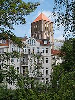 Nikolaikirche in Rostock, Mecklenburg-Vorpommern, Deutschland
