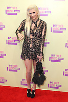 LOS ANGELES, CA - SEPTEMBER 06: Ke$ha at the 2012 MTV Video Music Awards at The Staples Center on September 6, 2012 in Los Angeles, California. © mpi28/MediaPunch inc. /NortePhoto.com<br />