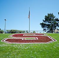 SAN FRANCISCO, CA - April 14, 2012: Stanford Cardinal and White Spring Game at Kezar Stadium in San Francisco, CA.