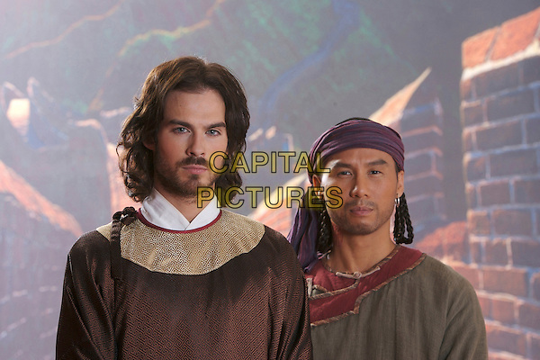 IAN SOMERHALDER & B.D. WONG.in Marco Polo  .**Editorial Use Only**.CAP/FB.Supplied by Capital Pictures