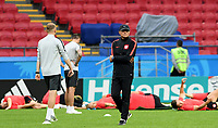 KAZAN - RUSIA, 23-06-2018: Adam NAWALKA técnico de Polonia, durante entrenamiento en Kazan Arena previo al encuentro del Grupo H con Colombia como parte de la Copa Mundo FIFA 2018 Rusia. / Adam NAWALKA coach of Poland during trannning in Kazan Arena prior the group H match with Colombia as part of the 2018 FIFA World Cup Russia. Photo: VizzorImage / Julian Medina / Cont