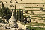 Israel, Jerusalem, Absalom's Tomb in Kidron valley