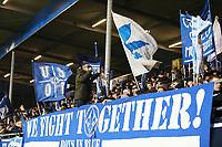 Fans von Darmstadt 98 schwoeren sich auf das Spiel ein - 21.02.2018: SV Darmstadt 98 vs. 1. FC Kaiserslautern, Stadion am Boellenfalltor, 2. Bundesliga