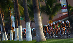 PUERTO VALLARTA, MEXICO - OCTOBER 23: General view of the women's bike pack during the Triathlon competition on Day Eight of the XVI Pan American Games on October 23, 2011 in Puerto Vallarta, Mexico.  (Photo by Donald Miralle for Mexsport) *** Local Caption ***