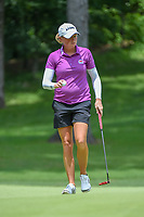 Stacy Lewis (USA) after sinking her putt on 10 during round 2 of the U.S. Women's Open Championship, Shoal Creek Country Club, at Birmingham, Alabama, USA. 6/1/2018.<br /> Picture: Golffile | Ken Murray<br /> <br /> All photo usage must carry mandatory copyright credit (&copy; Golffile | Ken Murray)