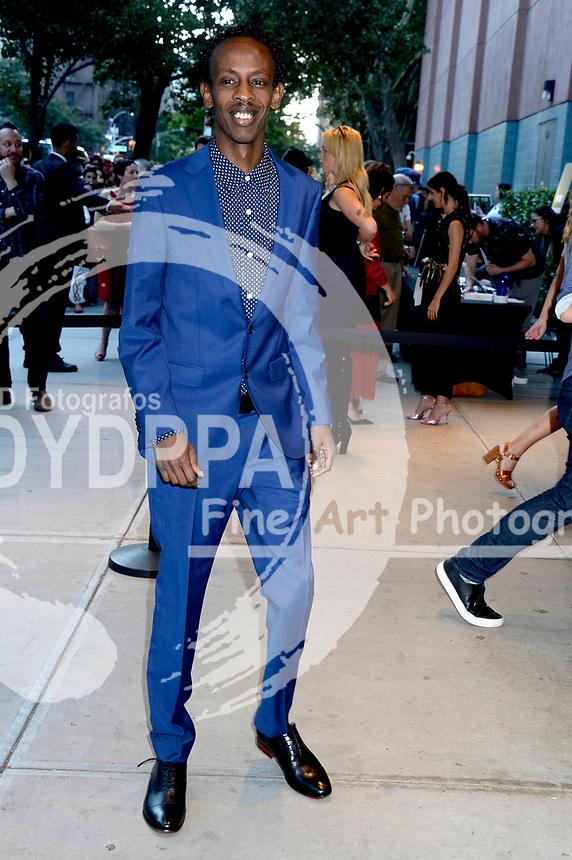 Barkhad Abdi bei der Premiere des Kinofilms 'Good Times' im SVA Theater. New York, 08.08.2017